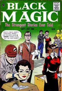 Cover Thumbnail for Black Magic (Prize, 1950 series) #v8#4 [49]