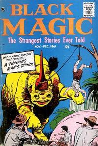 Cover Thumbnail for Black Magic (Prize, 1950 series) #v8#5 [50]
