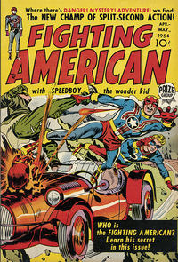 Cover Thumbnail for Fighting American (Prize, 1954 series) #v1#1 [1]