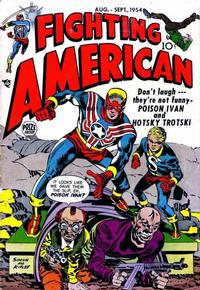 Cover Thumbnail for Fighting American (Prize, 1954 series) #v1#3 [3]