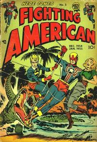 Cover Thumbnail for Fighting American (Prize, 1954 series) #v1#5 (5)