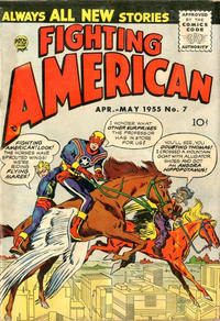 Cover Thumbnail for Fighting American (Prize, 1954 series) #v2#1 (7)
