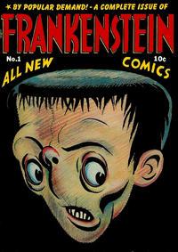 Cover Thumbnail for Frankenstein (Prize, 1945 series) #1