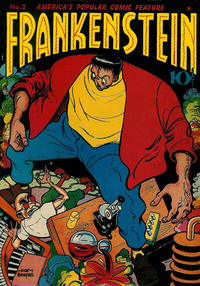 Cover Thumbnail for Frankenstein (Prize, 1945 series) #2