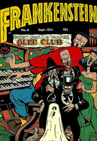 Cover Thumbnail for Frankenstein (Prize, 1945 series) #4