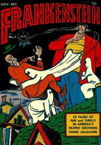 Cover Thumbnail for Frankenstein (Prize, 1945 series) #5