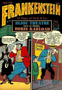 Cover Thumbnail for Frankenstein (Prize, 1945 series) #11