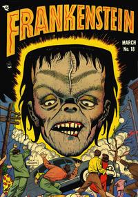 Cover Thumbnail for Frankenstein (Prize, 1945 series) #v3#1 (18)