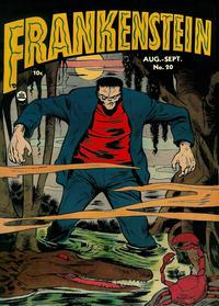 Cover for Frankenstein (Prize, 1945 series) #v3#4 (20)