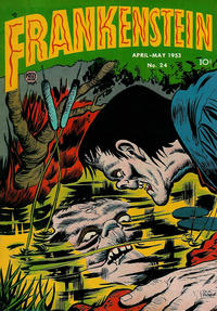 Cover Thumbnail for Frankenstein (Prize, 1945 series) #v4#2 (24)
