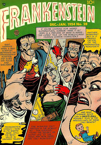 Cover Thumbnail for Frankenstein (Prize, 1945 series) #v4#6 (28)