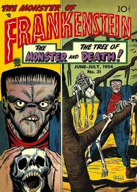 Cover Thumbnail for Frankenstein (Prize, 1945 series) #v5#3 (31)