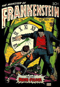Cover Thumbnail for Frankenstein (Prize, 1945 series) #v5#5 (33)