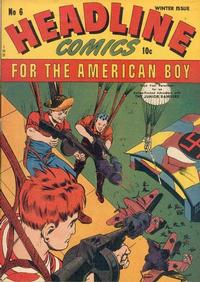 Cover Thumbnail for Headline Comics (Prize, 1943 series) #v1#6 (6)