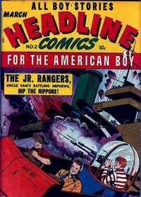 Cover Thumbnail for Headline Comics (Prize, 1943 series) #v1#2 (2)
