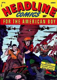 Cover Thumbnail for Headline Comics (Prize, 1943 series) #v1#4 (4)