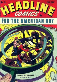 Cover Thumbnail for Headline Comics (Prize, 1943 series) #v1#5 (5)