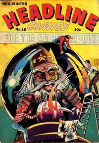 Cover Thumbnail for Headline Comics (Prize, 1943 series) #v1#10 (10)