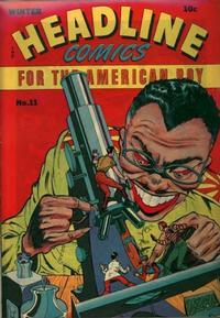 Cover Thumbnail for Headline Comics (Prize, 1943 series) #v1#11 (11)