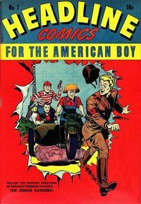 Cover Thumbnail for Headline Comics (Prize, 1943 series) #v1#7 (7)