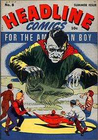Cover Thumbnail for Headline Comics (Prize, 1943 series) #v1#8 (8)