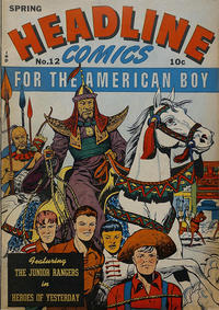 Cover Thumbnail for Headline Comics (Prize, 1943 series) #v1#12 (12)
