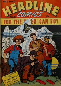 Cover Thumbnail for Headline Comics (Prize, 1943 series) #v2#1 (13)