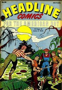 Cover Thumbnail for Headline Comics (Prize, 1943 series) #v2#8 (20)