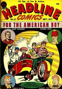 Cover Thumbnail for Headline Comics (Prize, 1943 series) #v2#9 (21)