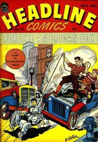 Cover Thumbnail for Headline Comics (Prize, 1943 series) #v2#10 (22)