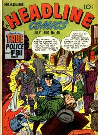 Cover Thumbnail for Headline Comics (Prize, 1943 series) #v6#6 (48)