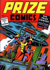 Cover Thumbnail for Prize Comics (Prize, 1940 series) #v1#1 (1)