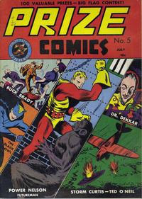 Cover Thumbnail for Prize Comics (Prize, 1940 series) #v1#5 (5)