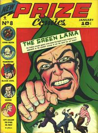 Cover Thumbnail for Prize Comics (Prize, 1940 series) #v1#8 (8)