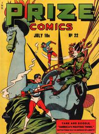 Cover Thumbnail for Prize Comics (Prize, 1940 series) #v2#10 (22)