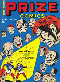 Cover Thumbnail for Prize Comics (Prize, 1940 series) #v3#6 (30)