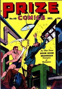 Cover for Prize Comics (Prize, 1940 series) #v4#12 (48)