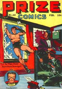 Cover Thumbnail for Prize Comics (Prize, 1940 series) #v5#2 (50)