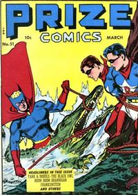 Cover Thumbnail for Prize Comics (Prize, 1940 series) #v5#3 (51)