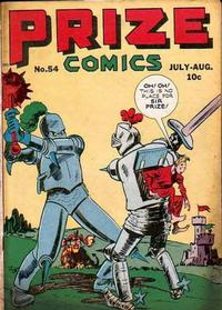 Cover Thumbnail for Prize Comics (Prize, 1940 series) #v5#6 (54)