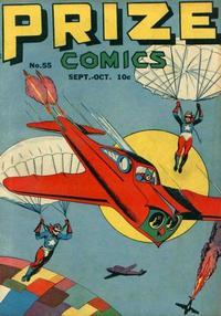 Cover Thumbnail for Prize Comics (Prize, 1940 series) #v5#7 (55)