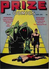 Cover Thumbnail for Prize Comics (Prize, 1940 series) #v5#10 (58)
