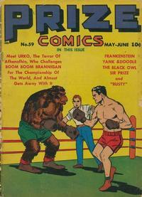 Cover Thumbnail for Prize Comics (Prize, 1940 series) #v5#11 (59)