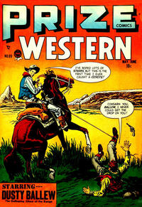 Cover Thumbnail for Prize Comics Western (Prize, 1948 series) #v7#2 (69)