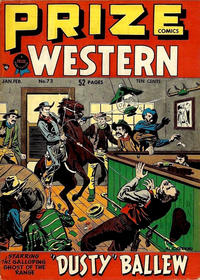 Cover Thumbnail for Prize Comics Western (Prize, 1948 series) #v7#6 (73)