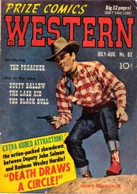 Cover Thumbnail for Prize Comics Western (Prize, 1948 series) #v9#3 (82)