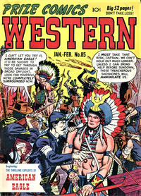 Cover Thumbnail for Prize Comics Western (Prize, 1948 series) #v9#6 (85)