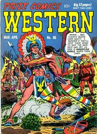 Cover Thumbnail for Prize Comics Western (Prize, 1948 series) #v10#1 (86)