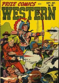 Cover Thumbnail for Prize Comics Western (Prize, 1948 series) #v10#4 (89)
