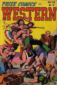 Cover Thumbnail for Prize Comics Western (Prize, 1948 series) #v10#6 (91)